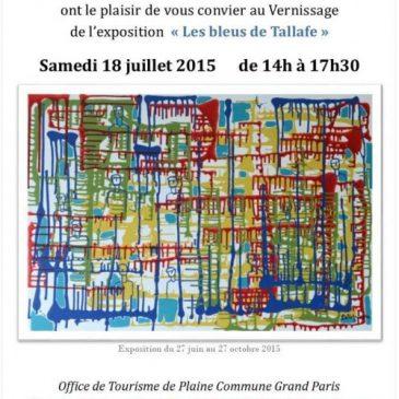Exposition à l'Office de tourisme de Saint-Ouen jusqu'au 27 octobre 2015