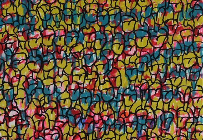 Acrylique sur toile, 100x81 cm. ©Mauricio_Alvarez